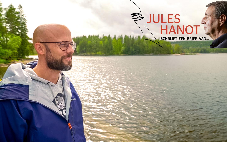 Jules Hanot schrijft een brief aan Staf Coppens
