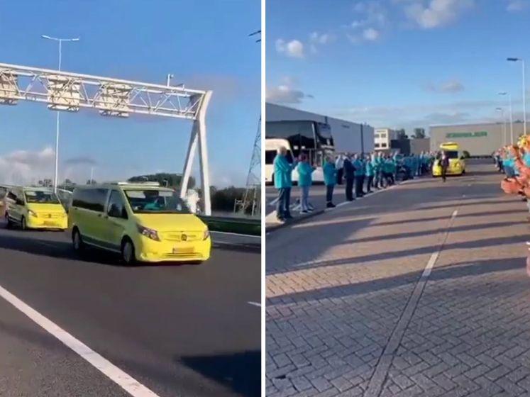 Indrukwekkend afscheid van Kees Veldboer van Stichting Ambulance Wens