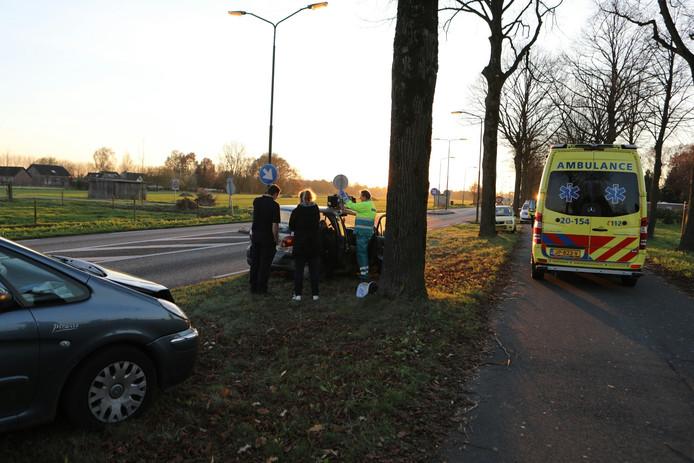 Ongeluk Gemeenteweg in Klein-Dongen.