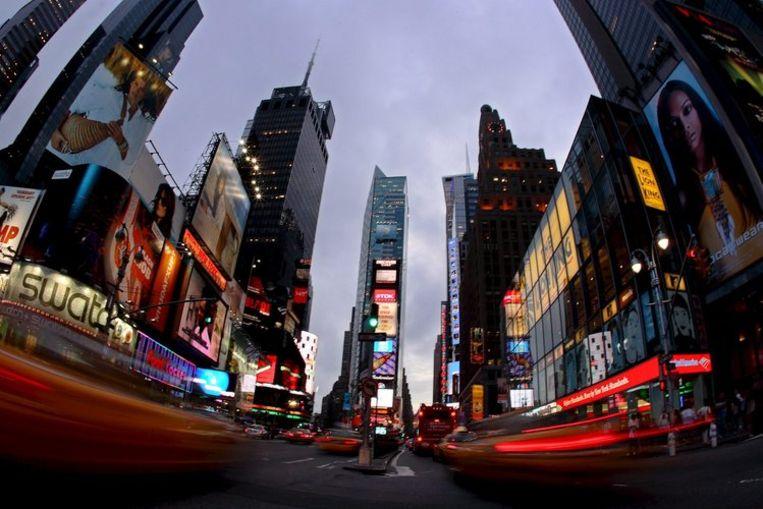 Times Square in New York. Foto EPA/Kerim Okten Beeld