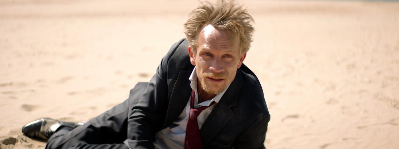 Belgische acteur Jérémie Renier in de fictiefilm 'L'Ennemi', gebaseerd op de zaak-Wesphael.   Beeld rv