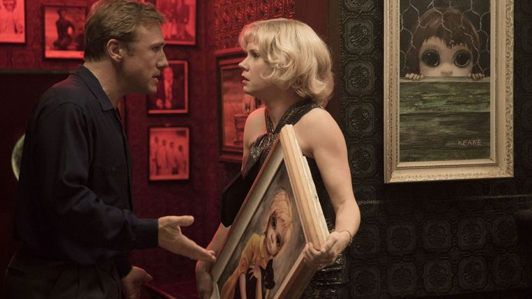 Christopher Waltz en Amy Adams in Big Eyes, de nieuwe film van Tim Burton Beeld Cinéart