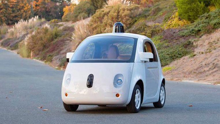 Prototype van Googles eigen 'self-driving car' Beeld ANP