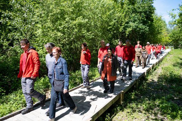 Feestelijke opening van de Wilgernis in het Mechelse Vrijbroekpark