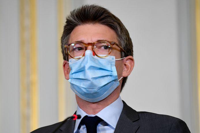 Le ministre de l'Emploi, Pierre-Yves Dermagne