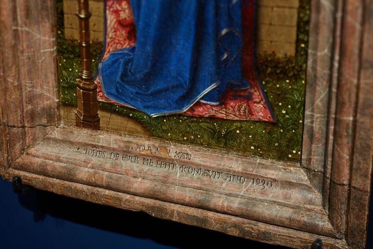 In Gent kun je dertien werken van Van Eyck (ca. 1390-1441) bewonderen. Beeld RV David Levene