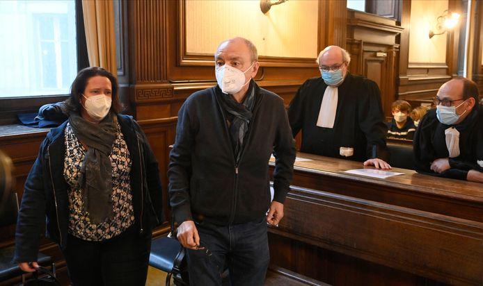 L'ancien député au Parlement flamand Christian Van Eyken et son épouse Sylvia B., condamnés à 27 ans d'emprisonnement le 16 février dernier.