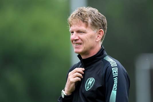 coach *Alfons Groenendijk* of ADO Den Haag