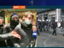 Émeutes à Liège: un journaliste de RTL-TVi pris à partie par des jeunes en plein direct