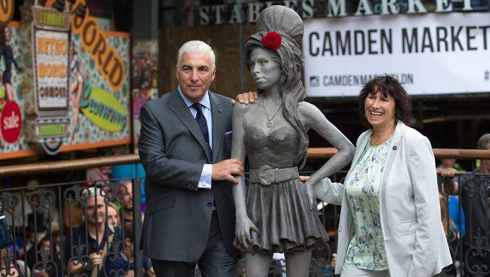Mich en Janis Winehouse.