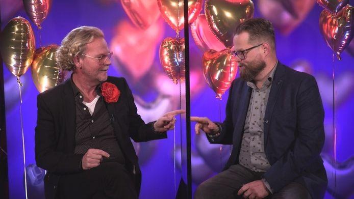 Bastiaan van Schaik en Patrick in First Dates Valentijns Special.