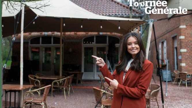 """Het eerste terrasje van Lissa Lewis is bij Brasserie 't Koetshuis: """"Een kriek na het sporten"""""""