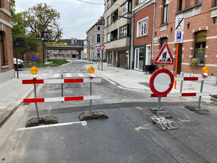 De Koophandelstraat is afgesloten voor doorgaand verkeer.