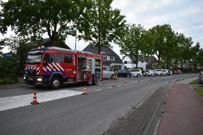 De hulpdiensten zijn donderdagavond massaal uitgerukt naar de Stadswal in Huissen.