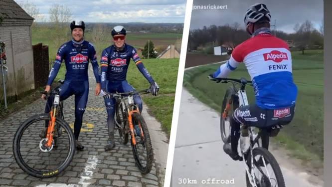 Van der Poel haalt na weekje rust mountainbike van stal en rijdt niet alles op twee wielen
