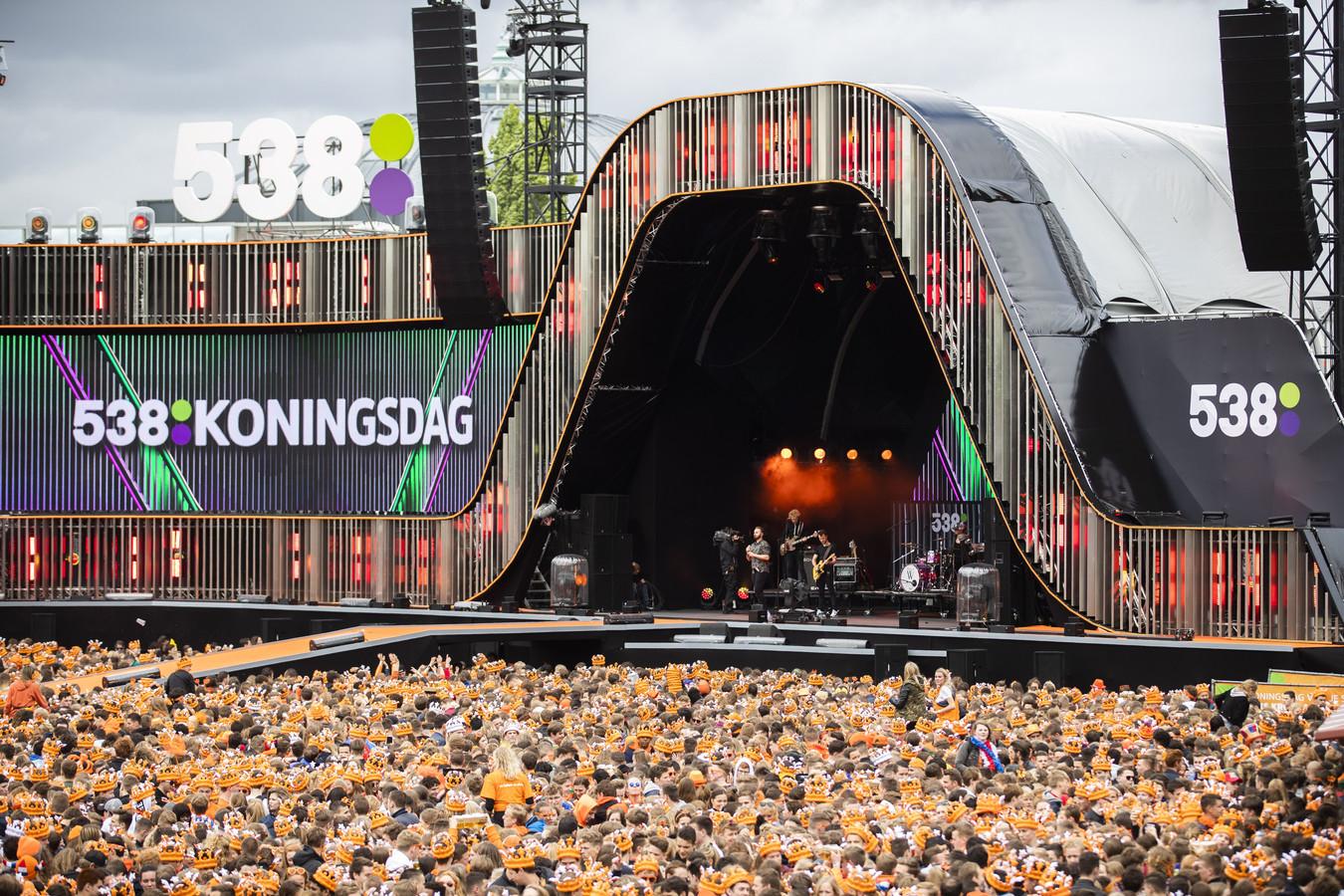 BREDA - 538 Koningsdag in Breda in 2019: Foto:  ANP KIPPA JEROEN JUMELET