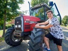 'De eerste keer op mijn eigen tractor had ik flink de bibbers'