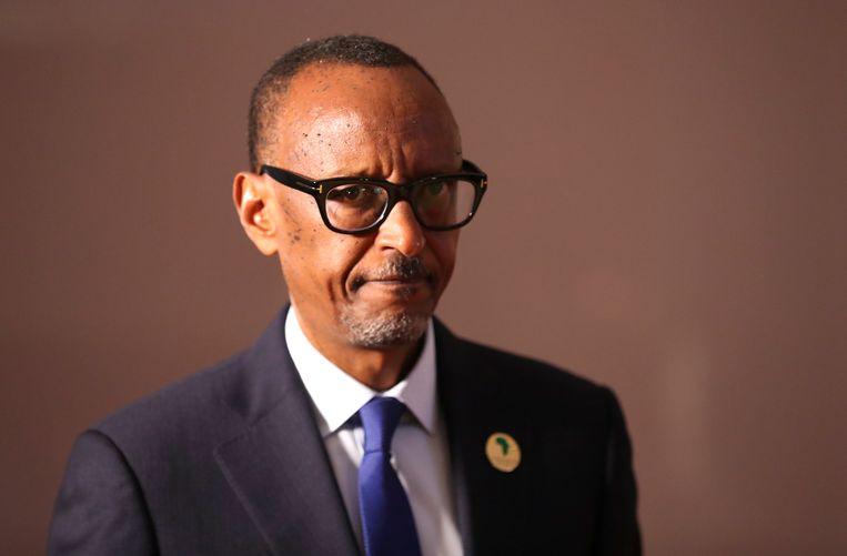Paul Kagame. Beeld EPA