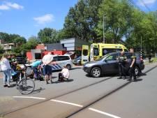 Fietser gewond bij aanrijding op de Bachsingel