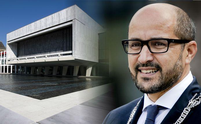 Ahmed Marcouch en het stadhuis van Arhnem