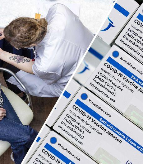 Grote belangstelling voor Janssen: 'Ideaal vaccin als je met één prik klaar wilt zijn'