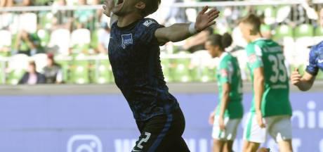 Hertha zet ambities kracht bij met simpele zege bij Werder