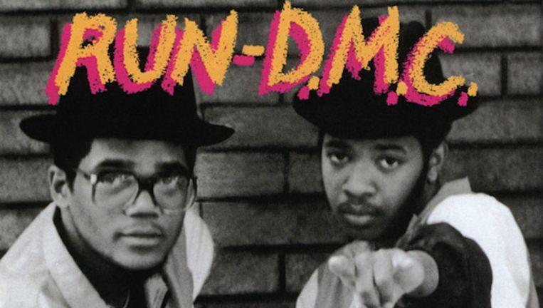 De eerste plaat van Run-D.M.C.: 'Run-D.M.C.' Beeld rv