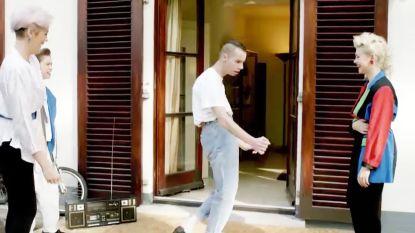 Hilarisch: Sam Gooris showt zijn dansmoves uit 1989