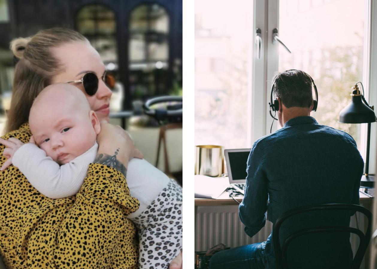 Nina en haar zoontje / Foto ter illustratie: Karel is niet zijn echte naam.