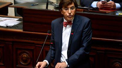 """Di Rupo clasht stevig met premier Michel: """"U kondigde aan dat we zonder socialisten nogal eens zouden zien. U moet toegeven dat dit niet gelukt is"""""""