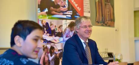 Spannende dag voor school in Breukelen: op eerste dag na heropening meteen de minister over de vloer