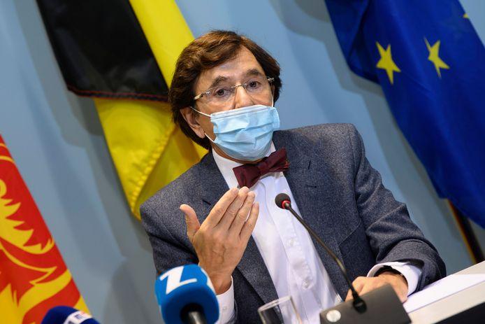 Elio Di Rupo, ministre-président wallon (PS).