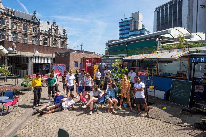 Het team achter het Stroomplein.