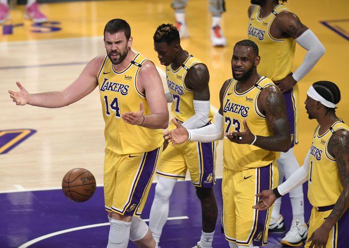 Désillusion pour les Lakers