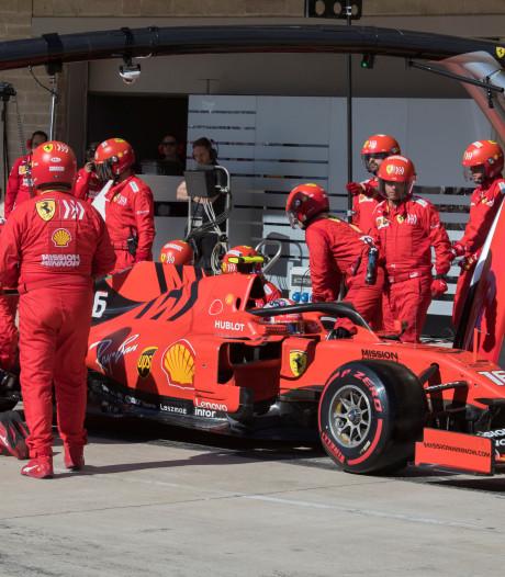 Gridstraf voor Leclerc in Brazilië