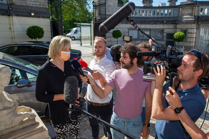 Vlaams minister Hilde Crevits (CD&V).