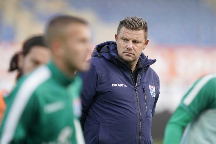 PEC Zwolle-trainer John Stegeman had niet verwacht dat RKC Waalwijk afgelopen woensdag alsnog langszij zou komen.
