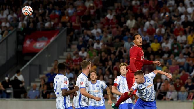 Virgil van Dijk maakt na 285 dagen rentree bij Liverpool in Oostenrijk