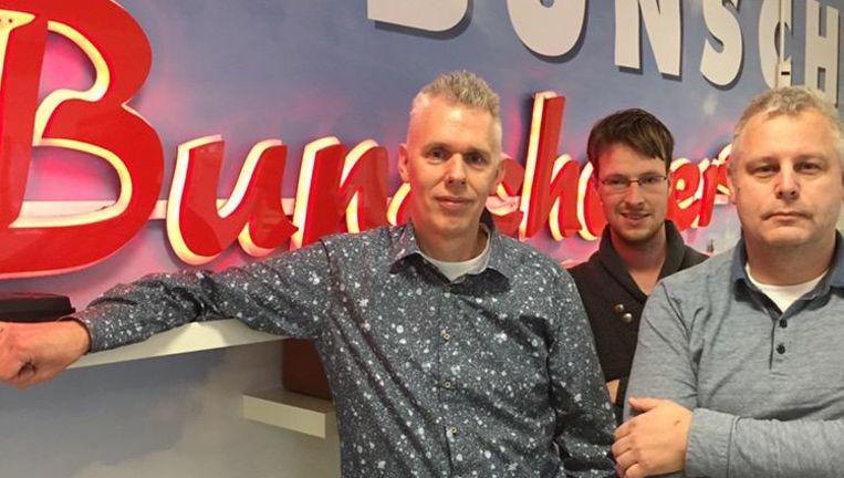 Hoofdredacteur Abraham Muijs en redacteuren Bart Bos en Peter Frans (v.l.n.r.). Beeld null