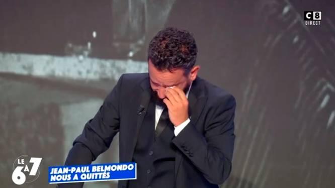 Cyril Hanouna fond en larmes en évoquant Jean-Paul Belmondo