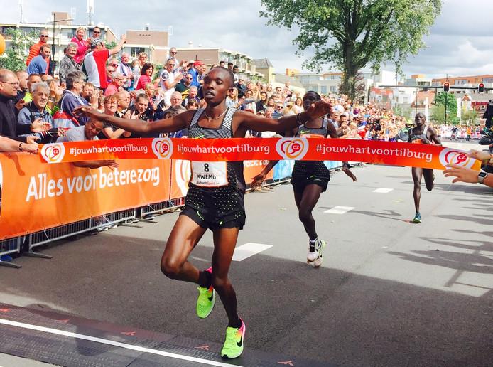 Rodgers Kwemoi wint de 29e editie van de Tilburg Ten Miles
