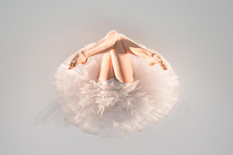 Izabela Szylinska in een choreografie van Itzik Galili.