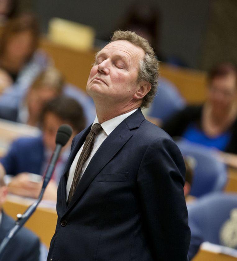 GroenLinks-fractieleider Bram van Ojik Beeld ANP
