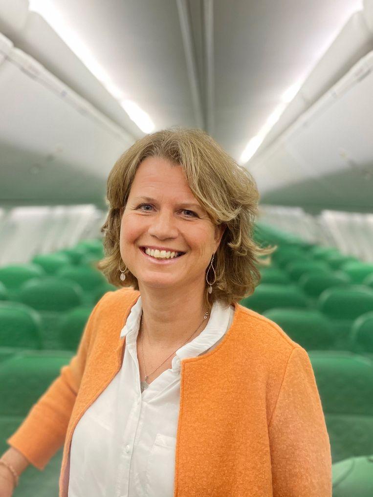 Petra de Ruiter, operationeel directeur Transavia. Beeld Transavia