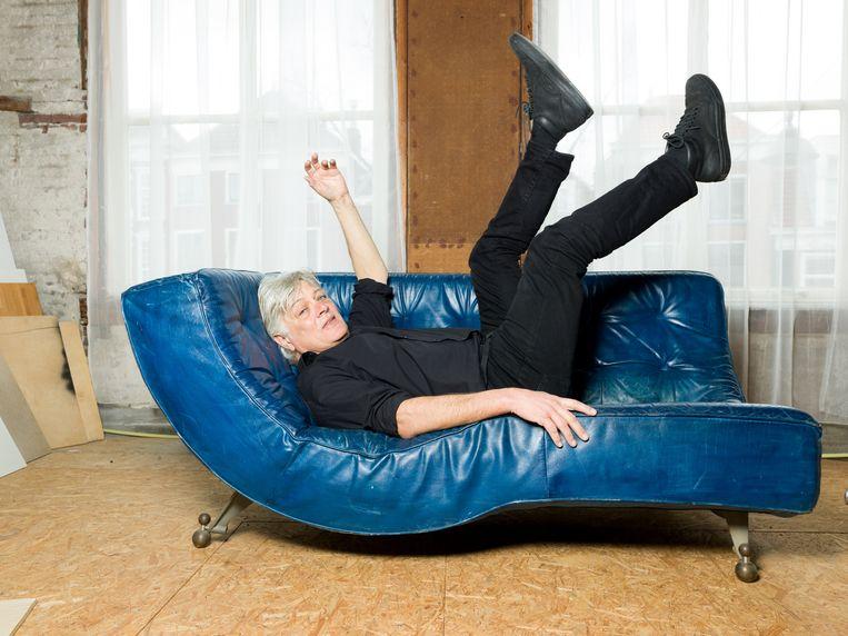Robert Jan Stips is een Nederlandse producer, componist, toetsenist en zanger bij onder andere de Nederlandse popgroep de Nits.  Beeld Ivo van der Bent