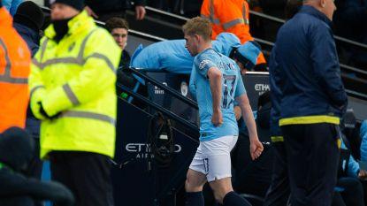 "Verbaasde Pep Guardiola moet uitleggen waarom Kevin De Bruyne na wissel meteen naar binnen stormde: ""Geen nieuwe blessure"""