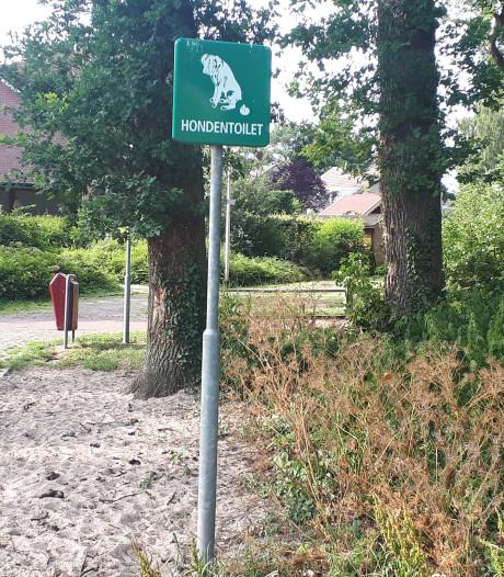 Luna en Max niet meer op hondentoilet in Rijssen-Holten