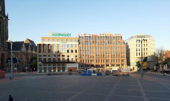 De Grote Markt in Groningen in rustige tijden.