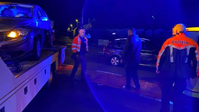 Zware materiële schade bij ongeval aan verkeerslichten Bosstraat