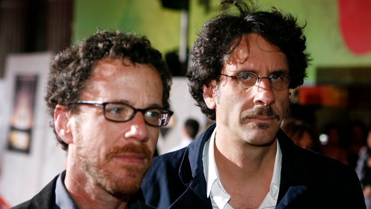 Ethan (links) en Joel Coen. Beeld REUTERS